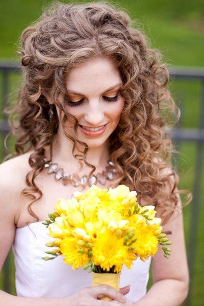 curly wedding hairstyles | idoonabudget