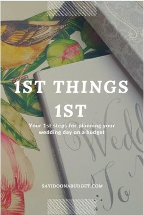 1stthings1st