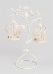 Matalan vintage-wire-hanging-birdcage