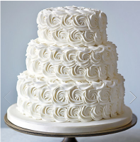 M&S wedding cake