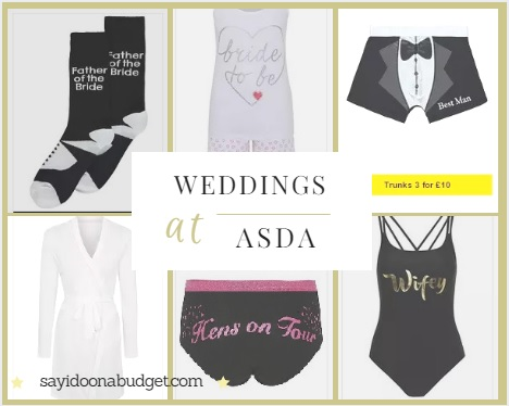 Thats Why Brides Go To Asda Say I Do On A Budget
