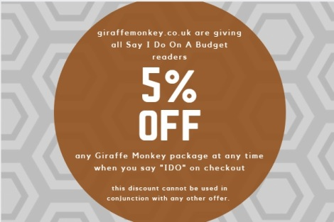 Giraffe Monkey Discount for readers of sayidoonabudget.com