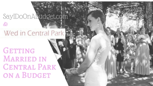 Wed in Central Park Header