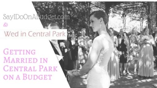 Wed in Central Park Header