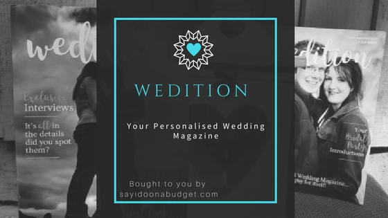 Wedition blog header