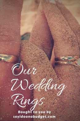 Our Budget Wedding Rings blog post