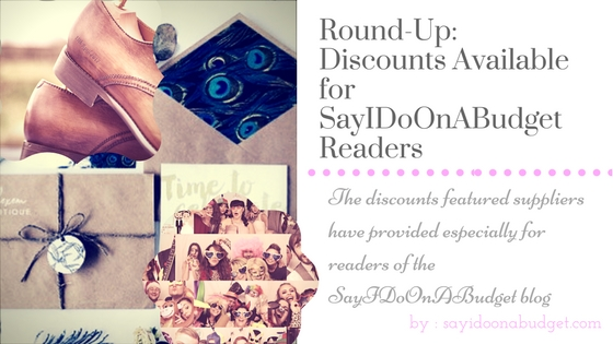 Discounts for Readers