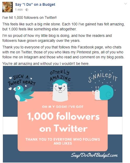 1000 on Twitter