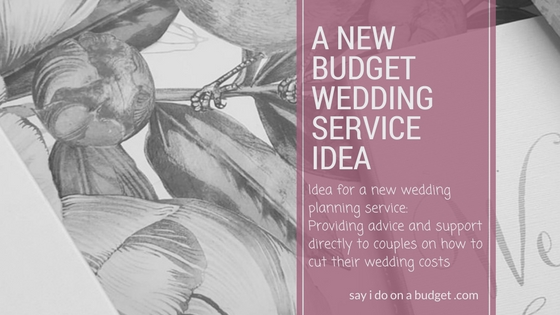 direct budget wedding planning service idea