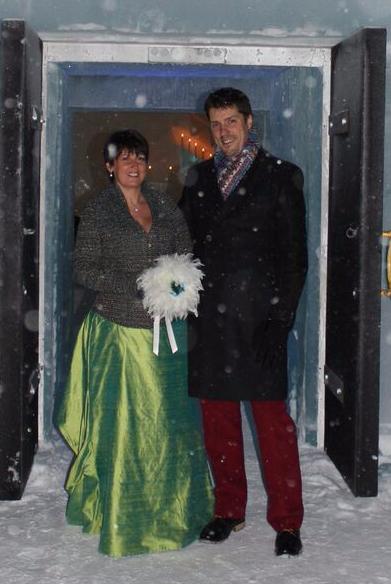 Ira Feature newlyweds icechurch