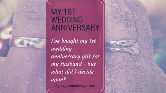 First wedding anniversary paper gift idoonabudget