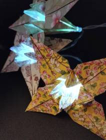 origami light string