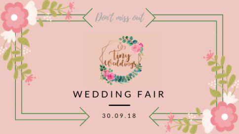 Tiny Weddings Wedding Fair