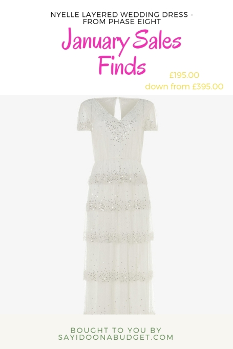 nyelle layered wedding dress - from phase eight_ january sales finds