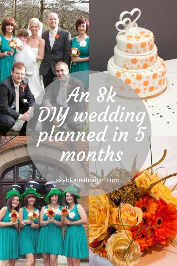 An 8k DIY wedding planned in 5 months