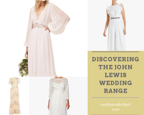 Discovering the John Lewis wedding range