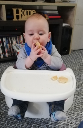 starting baby led weaning
